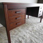 Vintage Danish Modern Desk By PS Heggen In Palisander Rosewood £695 SOLD
