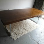 Vintage Gordon Russel GR1 Table in Brazilian Rosewood and Chrome £1295SOLD