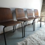 Rare Danish Plywood Chapel Chairs £295 SOLD
