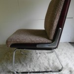 Vintage Gordon Russell Desk Chair in Rosewood & Chrome  £150 ( 2 available )
