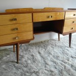 Vintage 1950s Italian Marion Lacquered Desk £375 SOLD