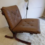 Vintage danish Siesta Chair in Rosewood and Leather £300