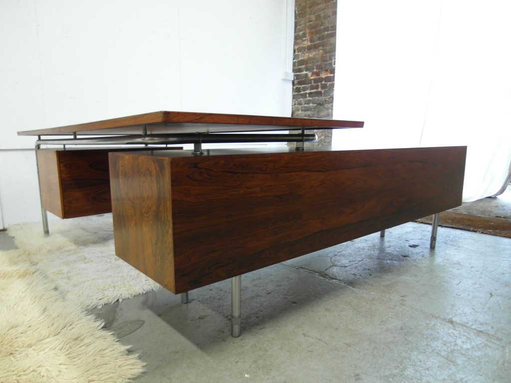 Vintage Arne Vodder Desk and Sideboard Return in Rio Rosewood £3995 SOLD