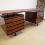 Exceptional Vintage Rosewood Executive Desk By Robin Day for Hille £1695