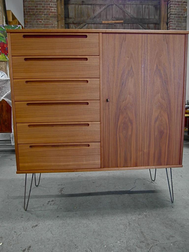 Vintage Nils Jonnson Cabinet on Hairpin legs £400