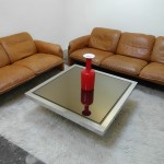 Vintage Two & Three Seater De Sede Sofas in Cognac Neck Leather £1995 SOLD