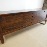 "Vintage Uniflex ""International Range"" Sideboard In  Rio Rosewood by Gunther Hoffstead £1600"