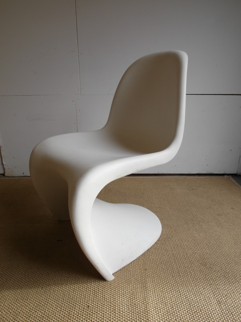 Two Verner Panton S chairs by Vitra Signed & Stamped £150
