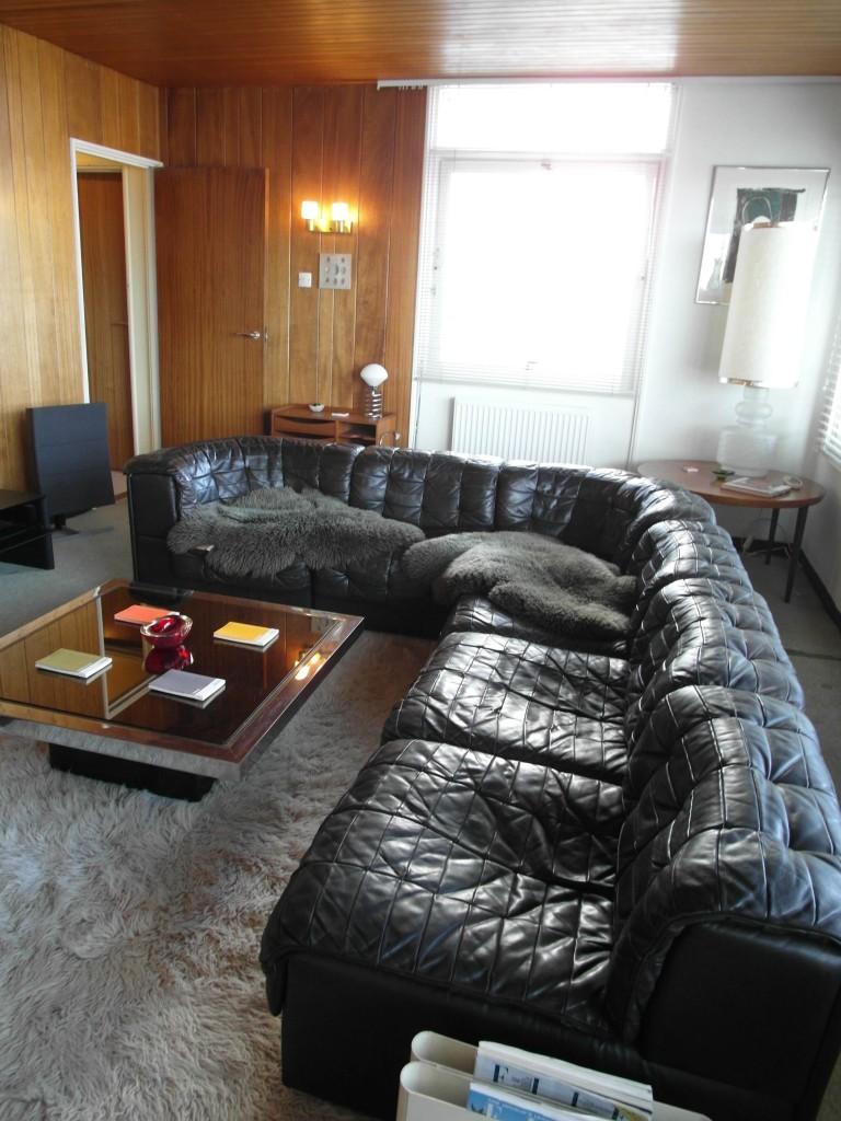 "Vintage De Sede DS11 Six Piece Modular Suite in Havana Brown "" Neck "" leather  £2500 SOLD"