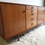 Vintage ib Kofod Larsen Sideboard in Teak and Rosewood for G Plan Danish Range £1495