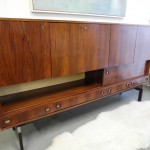 Vintage Danish Higboard In Rio Rosewood and Chrome £995 SOLD