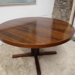 Poul Cadovius Circular Dining Table in Rio Rosewood £595