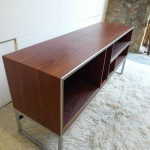 Vintage Rosewood and Aluminium Cabinet by Jacob Jensen for B&O £450 sold