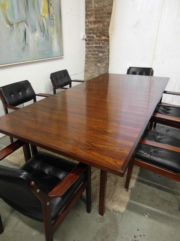 Arne Vodder Table in Rio Rosewood for Sibast Re-polished to Showroom Condition £2495