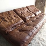 De Sede DS80 Daybed in Cognac Leather £1295 SOLD
