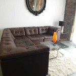 Vintage 1970's Danish Modular Sofa In Havana Brown Leather £1500 SOLD
