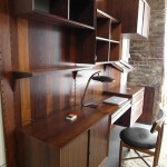 Vintage Cadovius Three bay  Shelving System in Rio Rosewood   £1800